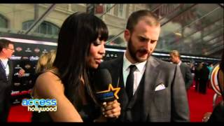 Avengers Premiere Chris Evans