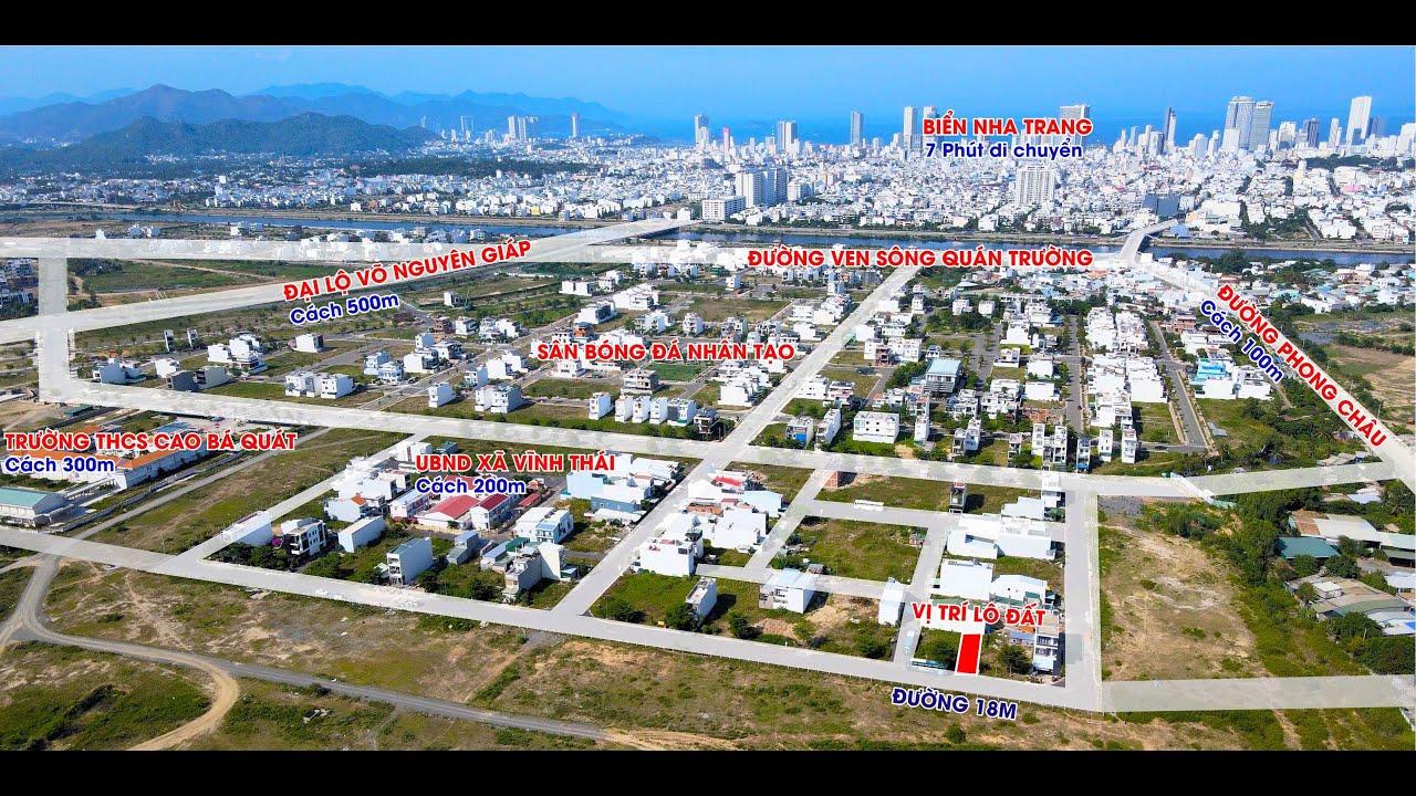 Duy nhất lô đất TĐC Mỹ Gia 100m2, đường lớn 18m, sổ đỏ, xây dựng tự do, giá chưa bằng năm 2018 video