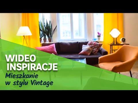 Mieszkanie w stylu Vintage (wideo)
