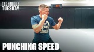 3 Tips To Improve Your PUNCHING SPEED | Stephen Wonderboy Thompson
