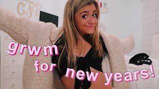 get ready with me for new year's eve!