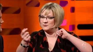 Sarah Millican at Graham Norton How to know you've gained weight