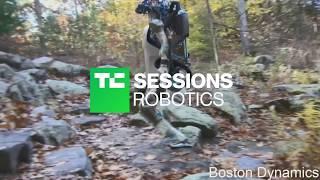 Exclusive footage of Boston Dynamics' Atlas robot | TC Sessions: Robotics