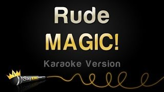 Magic! - Rude (Karaoke Version)
