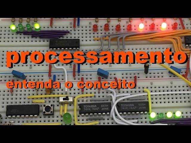 O CONCEITO DE PROCESSAMENTO | Conheça Eletrônica! #037