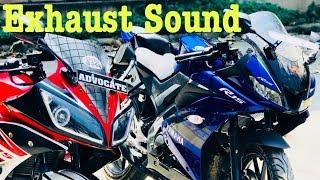 Yamaha R15 V3  0 Exhaust sound Videos - mp3toke