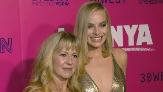 Tonya Harding Makes Surprise Appearance at 'I, Tonya' Premiere -- and Shuts Down the Carpet!