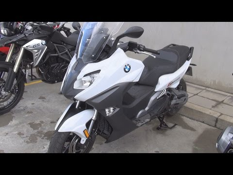 BMW Motorrad C 650 Sport (2016) Exterior and Interior in 3D