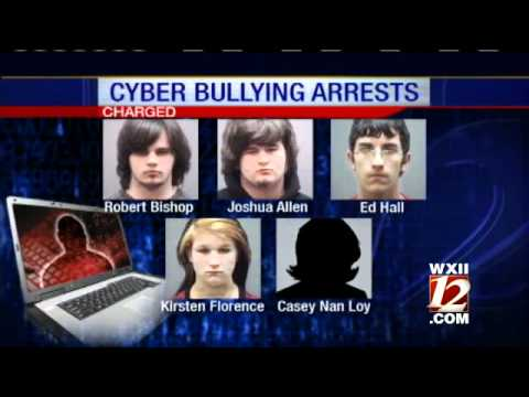 Six Students Arrested For Cyber Bullying - YouTube