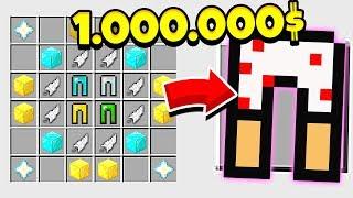 КАК СКРАФТИТЬ ШТАНЫ БОГА ЗА 1.000.000$ В МАЙНКРАФТ? СЕКРЕТНЫЙ КРАФТ