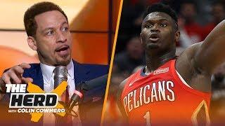 Zion Williamson will be a superstar if he develops a jump shot — Chris Broussard | NBA | THE HERD