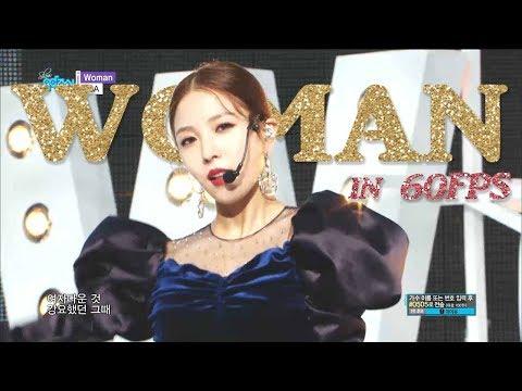 60FPS 1080P   BOA - Woman, 보아 - 우먼 Show Music Core 20181027