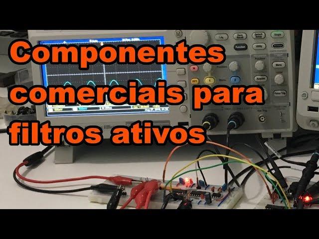 UTILIZANDO COMPONENTES COMERCIAIS EM FILTROS | Conheça Eletrônica #147
