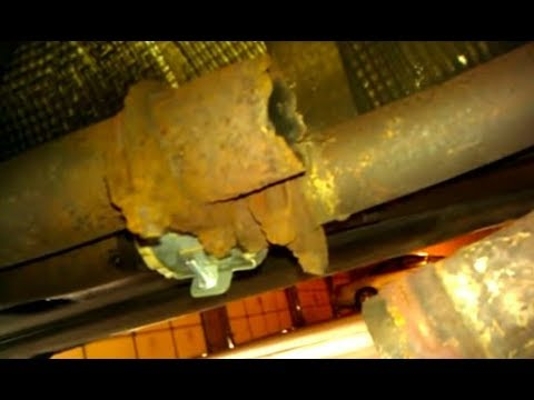 Easy 5min EXHAUST MUFFLER QUICK CHEAP FIX ! muffler repair ...