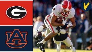 #4 Georgia vs #12 Auburn Highlights   Week 12   College Football   2019