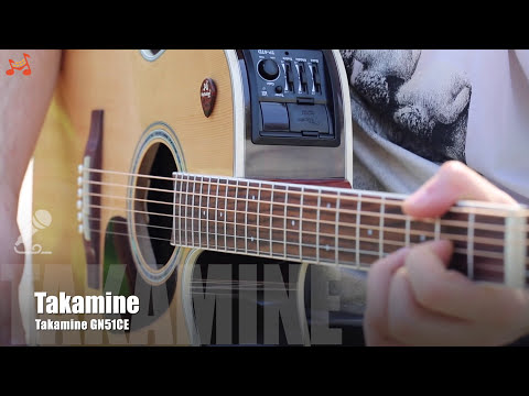 Takamine GN51CE-NAT Electro-Acoustic Guitar (Natural)