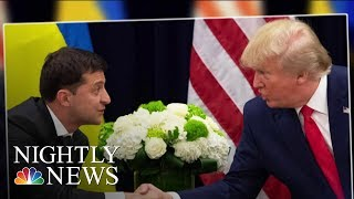 Trump Issues Warning To Republicans As Impeachment Inquiry About To Go Public   NBC Nightly News