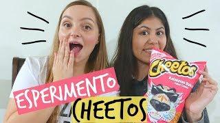 ESPERIMENTO E ASSAGGI CON CHEETOS E MAC'N CHEESE!! || Gemminamakeup