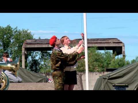 Закрытие детского полевого лагеря Юный спасатель в Архангельске