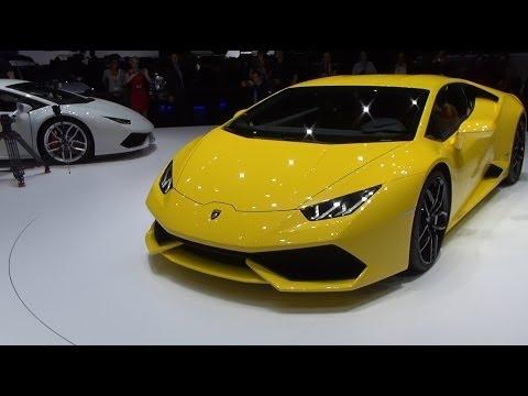 Lamborghini Huracán LP 610-4 Exterior in 3D 4K UHD