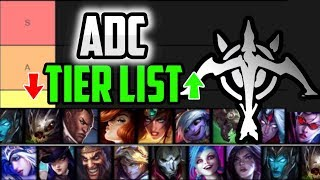 Best ADCs to CLIMB RANKED Tier List Patch  League of Legends