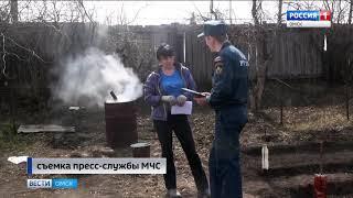 Более полумиллиона рублей штрафов заплатят жители Омской области за нарушение особого противопожарного режима
