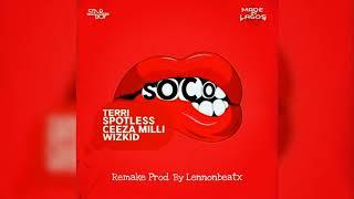 Star Boy – Soco (Instrumental) ft. Wizkid, Ceeza Milli, Spotless & Terri [Reprod. Lennonbeatx]