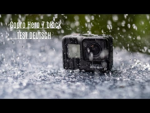 video GoPro HERO7 Schwarz – wasserdichte digitale Actionkamera mit Touchscreen, 4K-HD-Videos, 12-MP-Fotos, Livestreaming, Stabilisierung