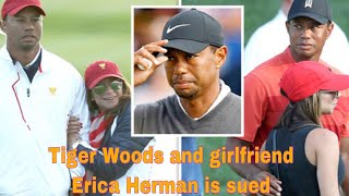 Tiger Woods and girlfriend Erica Herman sued after employee's drunk-driving accident