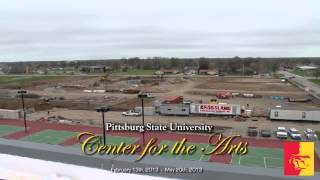 'Center for the Arts - Time-lapse update May 2013