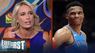 What's next for Westbrook, Thunder after a disappointing postseason? | NBA | FIRST THINGS FIRST