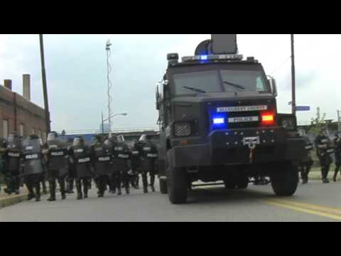 Long Range Acoustic Device (LRAD) G20 Pittsburgh