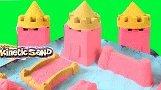 Đồ Chơi Trẻ Em - Đồ Chơi Cát Động Lực Kinetic Sand -Làm Lâu Đài Rực Rỡ Có Vua Hoàng Hậu & Công Chúa