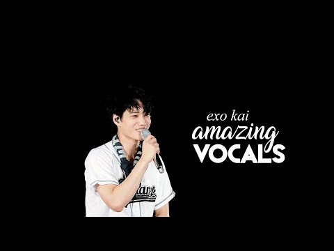 kai's amazing vocals!!