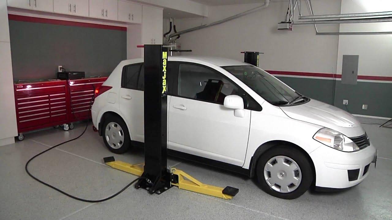 Car Lift For Home Garage: MaxJax Car Lift