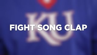 "KU Traditions: Learn the ""I'm a Jayhawk"" fight song clap"