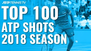 TOP 100 SHOTS & RALLIES: 2018 ATP Season