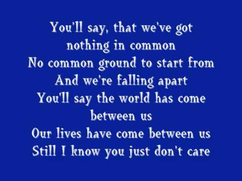 Breakfast At Tiffany's- Deep Blue Something (with lyrics)