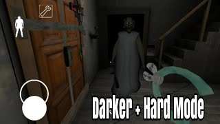 Play Darker + Hard Mode Without Making Granny Sleep - Granny Horror Game