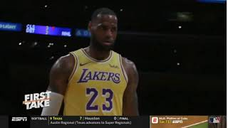 """Stephen A. Smith SHOCKED Magic Johnson EXPLAINS WHY """"Why didn't you tell LeBron you were resigning?"""""""