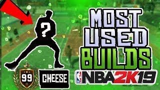 the most OVERUSED archetype builds in nba 2k19 park (pg builds)