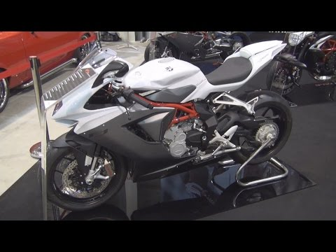 MV Agusta F3 800 (2016) Exterior and Interior in 3D