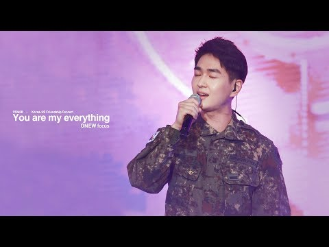 190608 한미친선음악회 - You are my everything ONEW focus