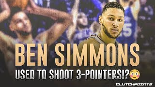 Proof Ben Simmons Used To Shoot 3-Pointers