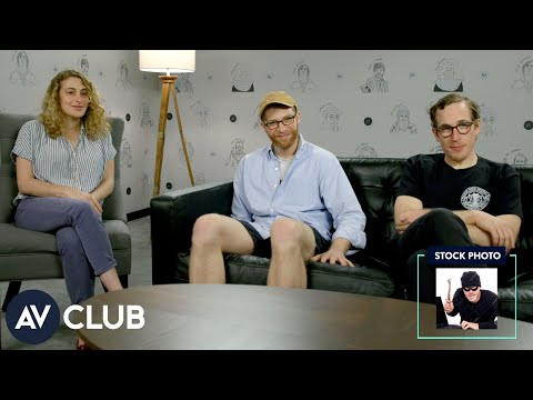 Jo Firestone, Joe Pera, and Conner O'Malley try to create Hollywood blockbusters from stock photos