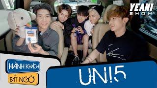 UNI5 họp mặt đông đủ, giải quyết mâu thuẫn tại Hành Khách Bất Ngờ | Yeah1 Show