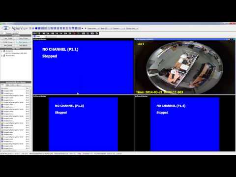 Find and Add Camera to APV7000 software - apply preconfiguration