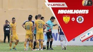Hà Nội bất ngờ nhận trái đắng đầu tiên tại V League 2019 trước Thanh Hóa   VPF Media