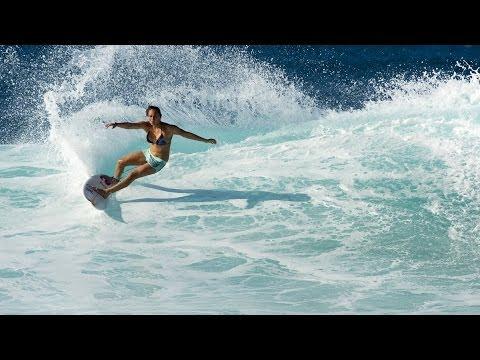 Carissa Moore Surfs Reefs Better Than You