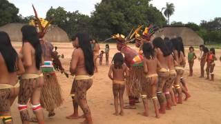 Brazil indigenous dance